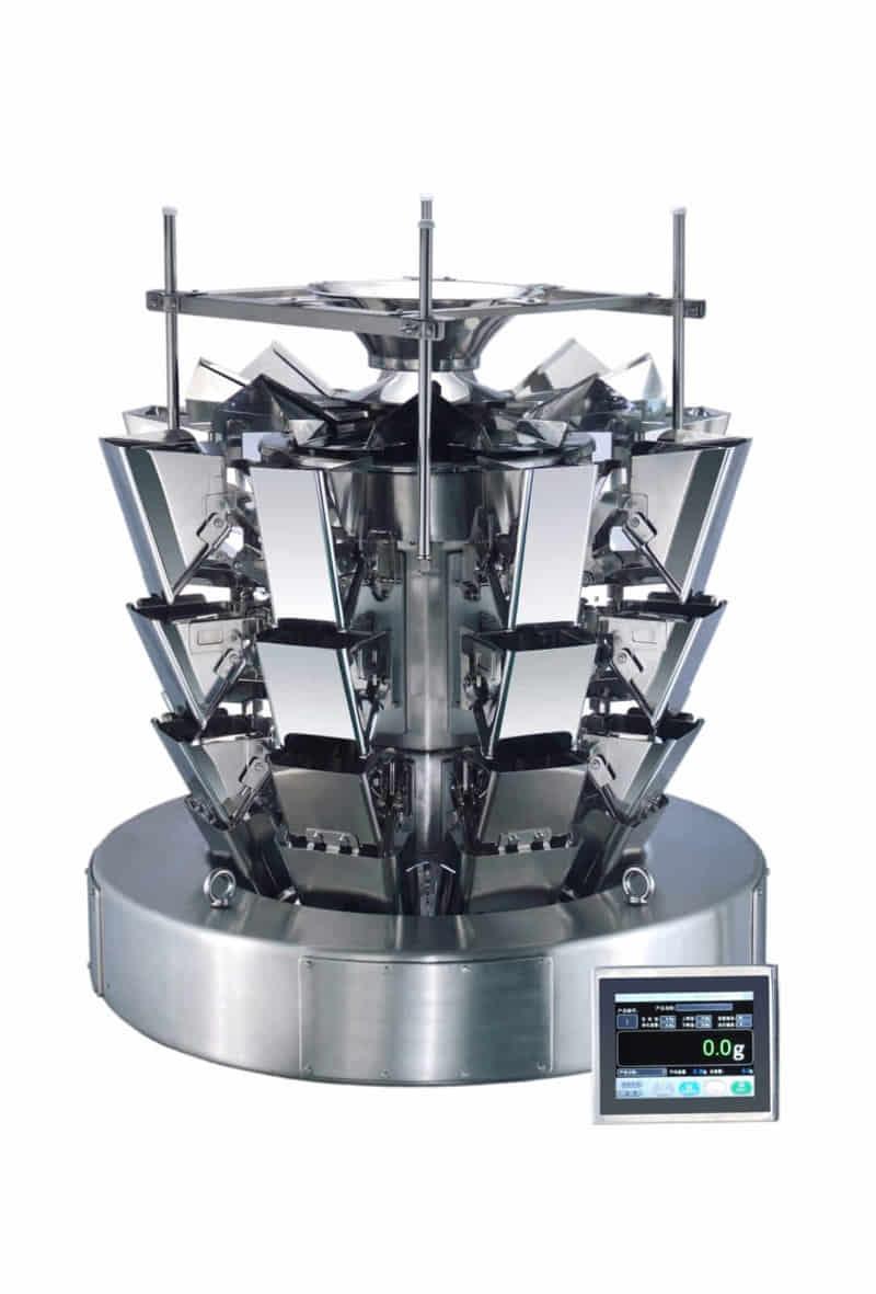 Tri-level Multihead Weigher